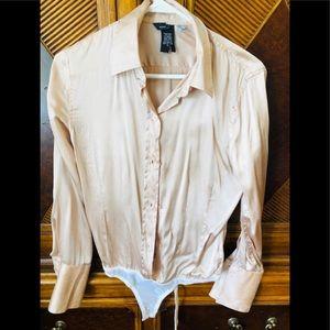 Nwot Moda bodysuit blouse size small